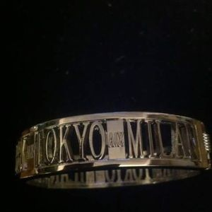 Jewelry - ARMANI EXCHANGE HINGE BANGLE BRACELET